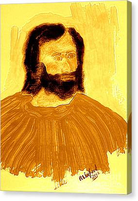 James The Apostle Son Of Zebedee 2 Canvas Print by Richard W Linford