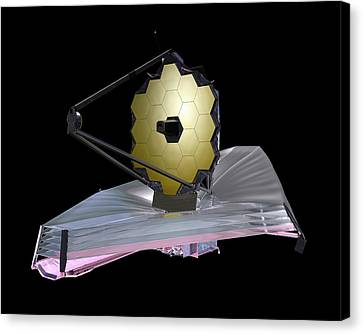 James Webb Space Telescope Canvas Print by Nasa