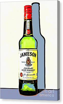 Jameson Irish Whiskey 20140916poster Canvas Print by Wingsdomain Art and Photography