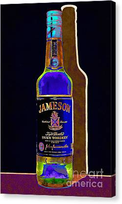 Jameson Irish Whiskey 20140916wc V2 Canvas Print by Wingsdomain Art and Photography