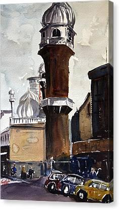 Jamia Mosque In Nairobi Canvas Print by James Nyika