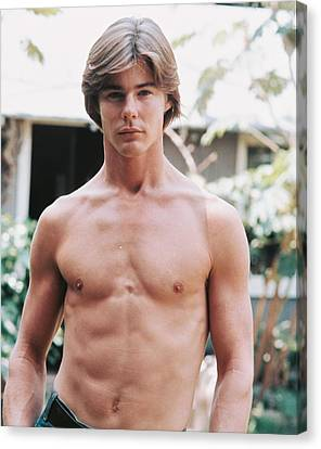 Jan-michael Vincent In Big Wednesday  Canvas Print by Silver Screen