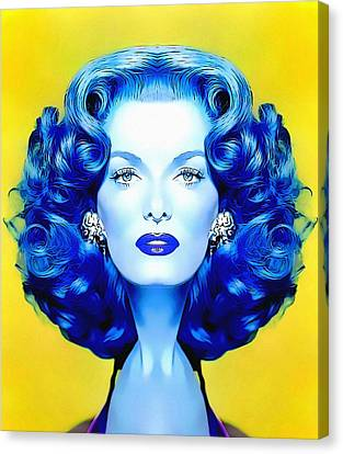Jane Russell Alias In The Revolt Of Mamie Stover Canvas Print by Art Cinema Gallery
