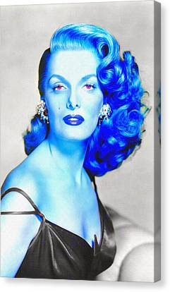 Jane Russell In The Revolt Of Mamie Stover Canvas Print by Art Cinema Gallery