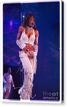 Janet Jackson-01 Canvas Print by Timothy Bischoff