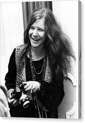 Janis Joplin 1969 Canvas Print by Chris Walter