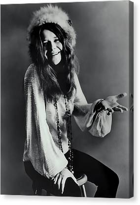 Janis Joplin Canvas Print by Daniel Hagerman