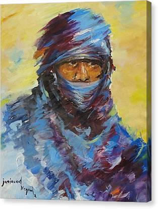 Janjaweed 3 Canvas Print by Negoud Dahab