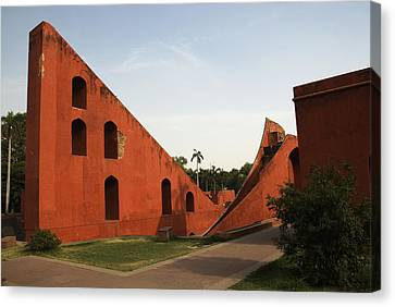 Jantar Mantar Canvas Print by Rajiv Chopra