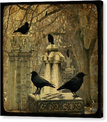 January Darkness Canvas Print by Gothicrow Images