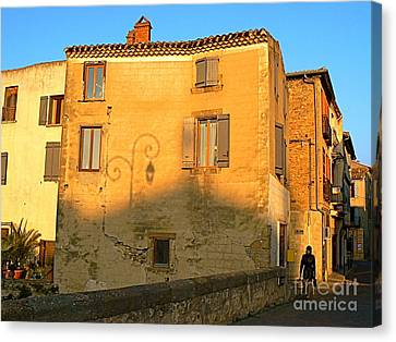 The Lady Of Limoux Canvas Print by France  Art