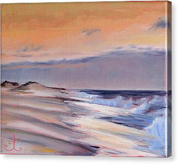 January Skies II Canvas Print by Trina Teele