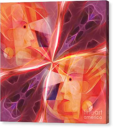 Janus Canvas Print by Lutz Baar
