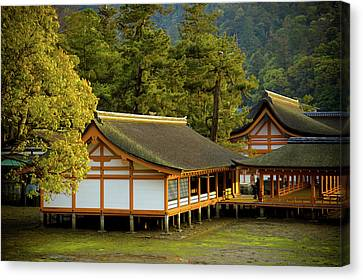 Japan Itsukushima Canvas Print by Sebastian Musial