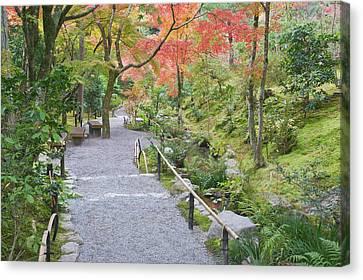 Japan, Kyoto, Arashiyama, Sagano Canvas Print