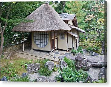 Japan, Kyoto, Kodai-ji Temple, Tea Canvas Print by Rob Tilley