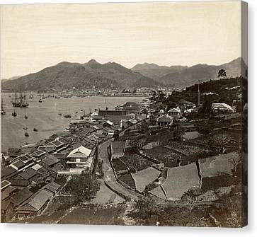Japan Nagasaki, 1880s Canvas Print by Granger