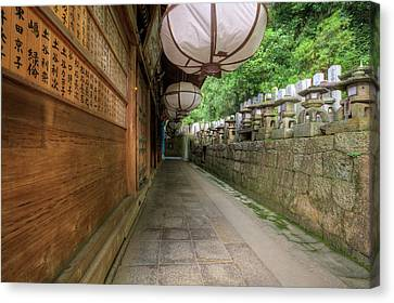 Japan, Nara, Nara Park Canvas Print by Jaynes Gallery