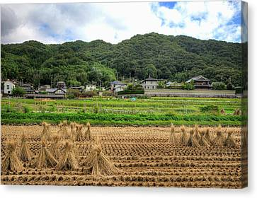 Japan, Nara Prefecture, Heguri-cho Canvas Print by Jaynes Gallery