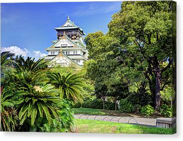 Japan, Osaka, Nara Prefecture Canvas Print by Jaynes Gallery