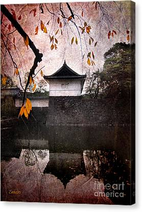 Japanese Autumn Canvas Print by Eena Bo