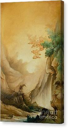 Japanese Autumn Canvas Print by Sorin Apostolescu