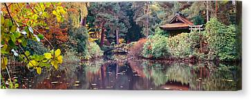 Cheshire Canvas Print - Japanese Garden In Autumn, Tatton Park by Panoramic Images