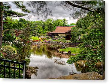 Canvas Print featuring the photograph Japanese House by Robert Culver