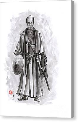 Japanese Warriors Painting. Canvas Print