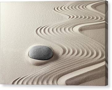 Japanese Zen Garden 21x30 Canvas Print by Dirk Ercken