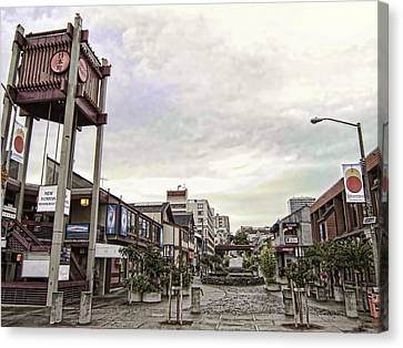 Japantown - Nihon Machi - San Francisco Canvas Print by Daniel Hagerman