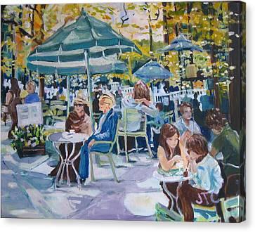 Jardin Du Luxembourg Canvas Print