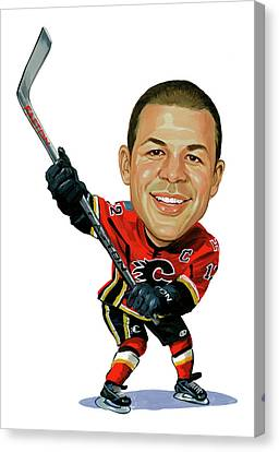 Jarome Iginla Canvas Print by Art