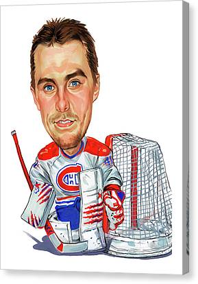 Jaroslav Halak Canvas Print by Art