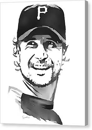 Jason Grilli Canvas Print by Scott Karan