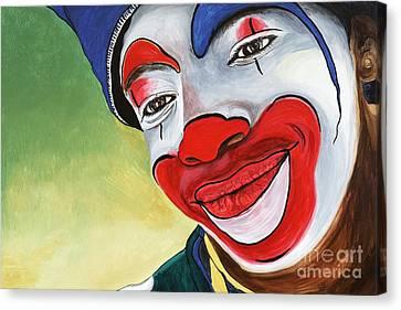 Jason The Clown Canvas Print by Patty Vicknair