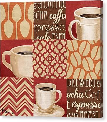 Java Collage II Canvas Print