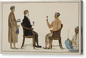 Alchol Canvas Print - Javanese Grandee by British Library