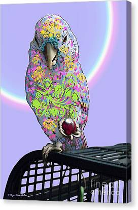 Canvas Print featuring the photograph Jawbreaker-dandy by Megan Dirsa-DuBois