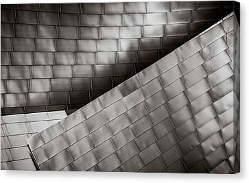 Canvas Print featuring the photograph Jay Pritzker Pavilion  by James Howe