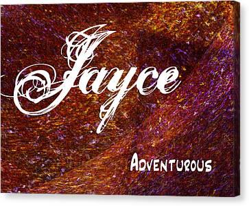 Movement Canvas Print - Jayce - Adventurous by Christopher Gaston