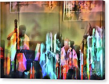 Jazz Band Canvas Print by Jeff Breiman
