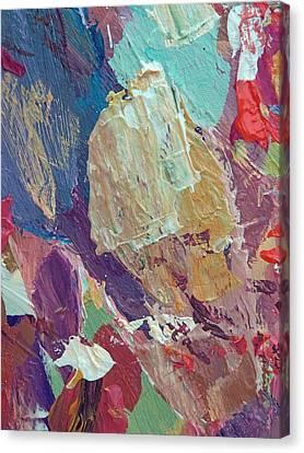 Jazz Block Canvas Print by David Lloyd Glover