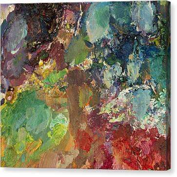 Jazz Garden Canvas Print