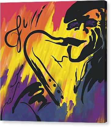 Jazz It Up Canvas Print