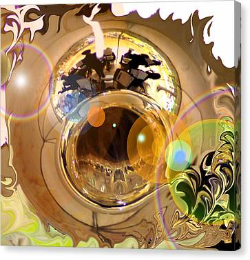 Jazz Reflections Canvas Print