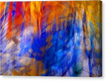 Canvas Print featuring the photograph Jazz#2 by Karo Evans