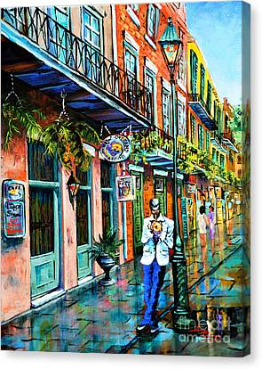 Jazz'n Canvas Print by Dianne Parks