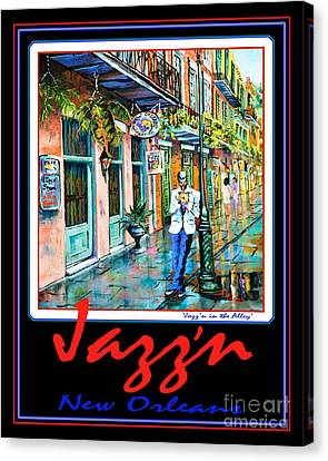 Jazz'n New Orleans Canvas Print by Dianne Parks