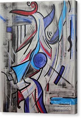 Jazzy Feeling Canvas Print